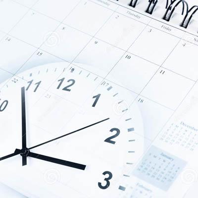 clock calendar 400 x 400