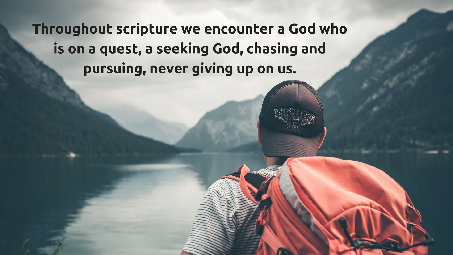 Sermon Quote of the Week… Gary Bye – New Life Assembly